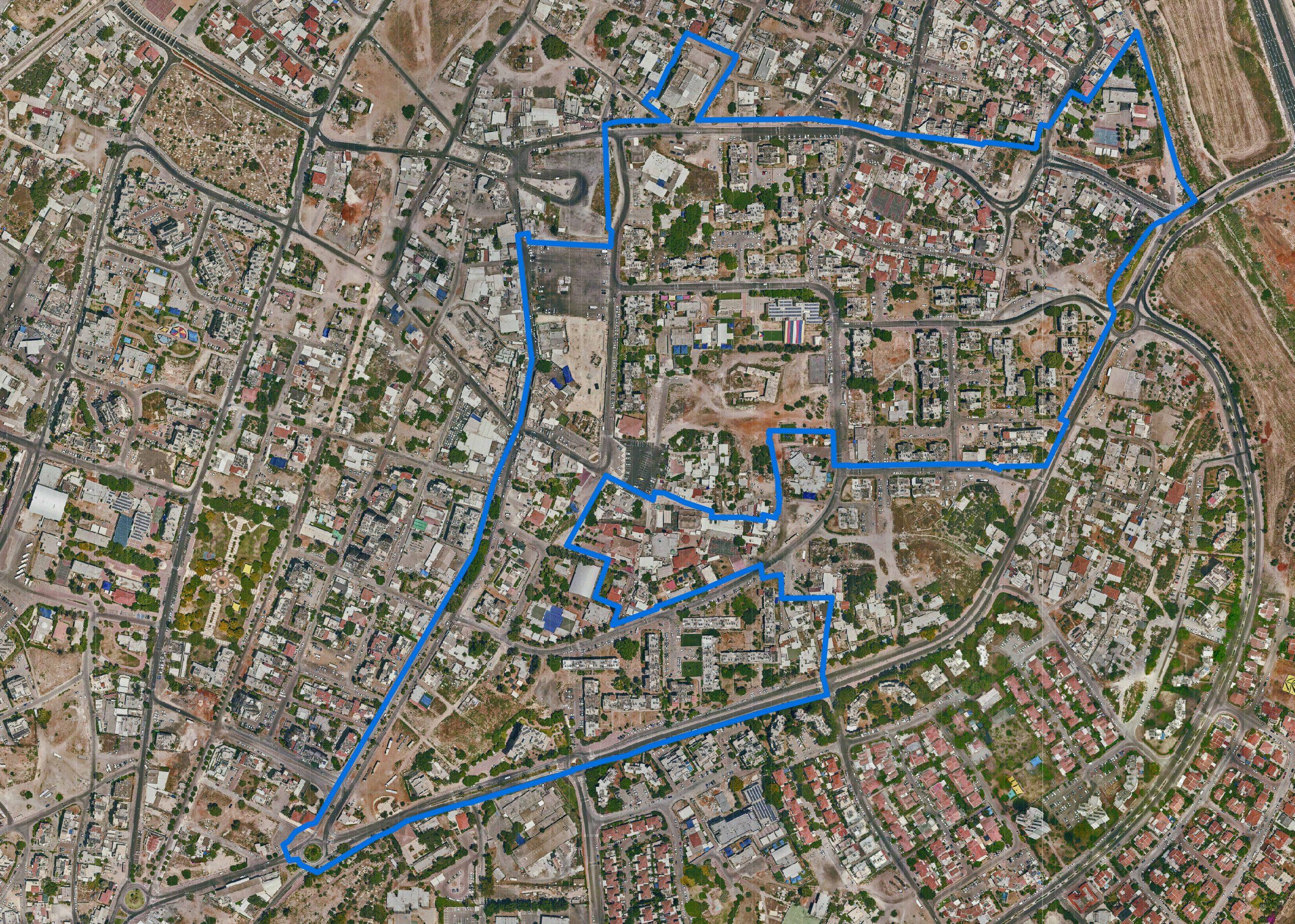 קו כחול מעודכן עיר עתקיה 2019 12 08